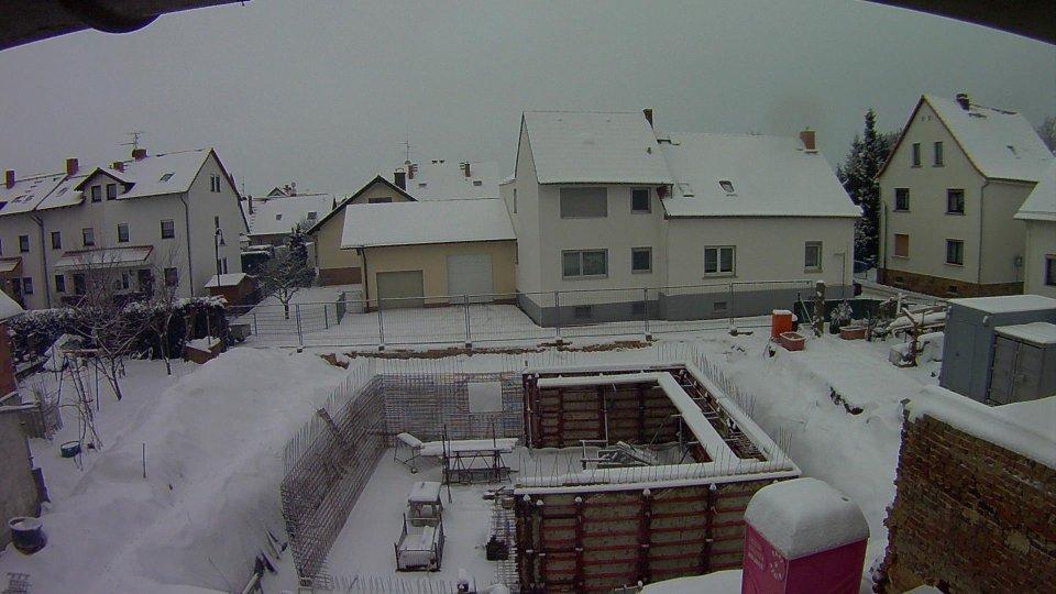 Baustop – Schnee