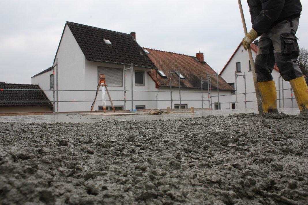 Erdgeschoss Tag 18 – Decke betonieren