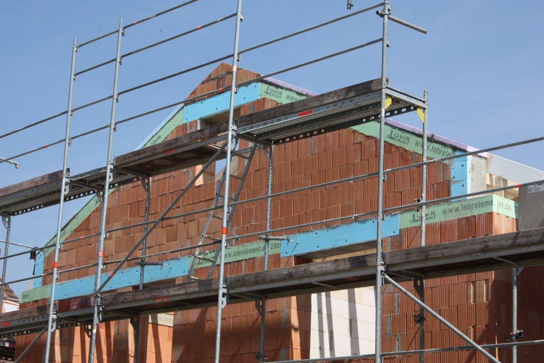 Dachgeschoss – Sparren ausmauern