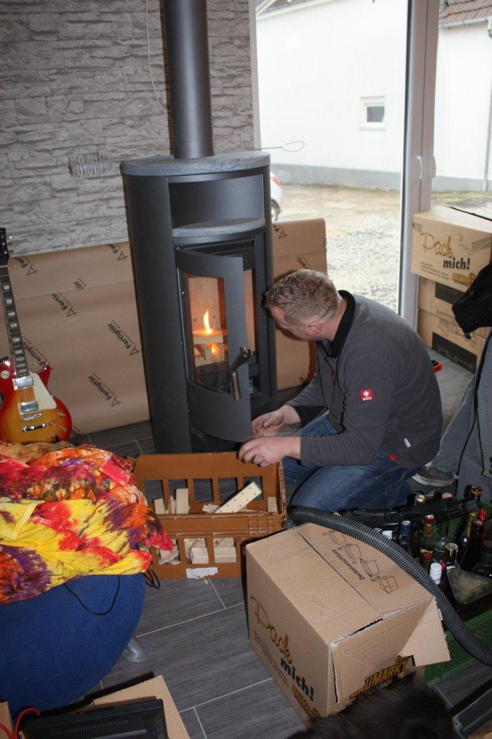 Inbetriebnahme der Feuerstelle